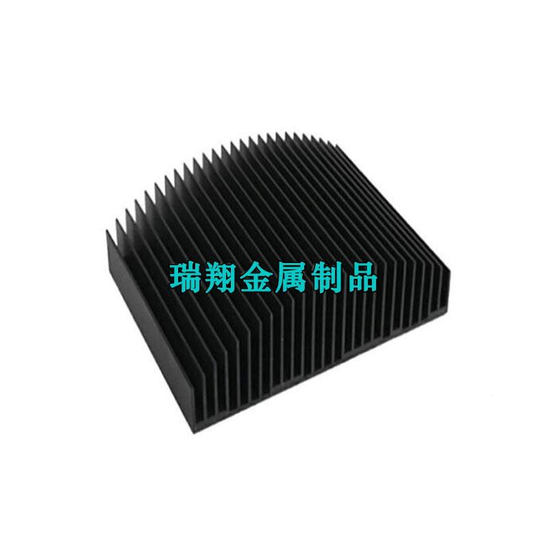 定制梳子散热铝合金型材,电子散热器铝型材