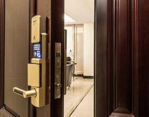 一种电子信息安全防盗门