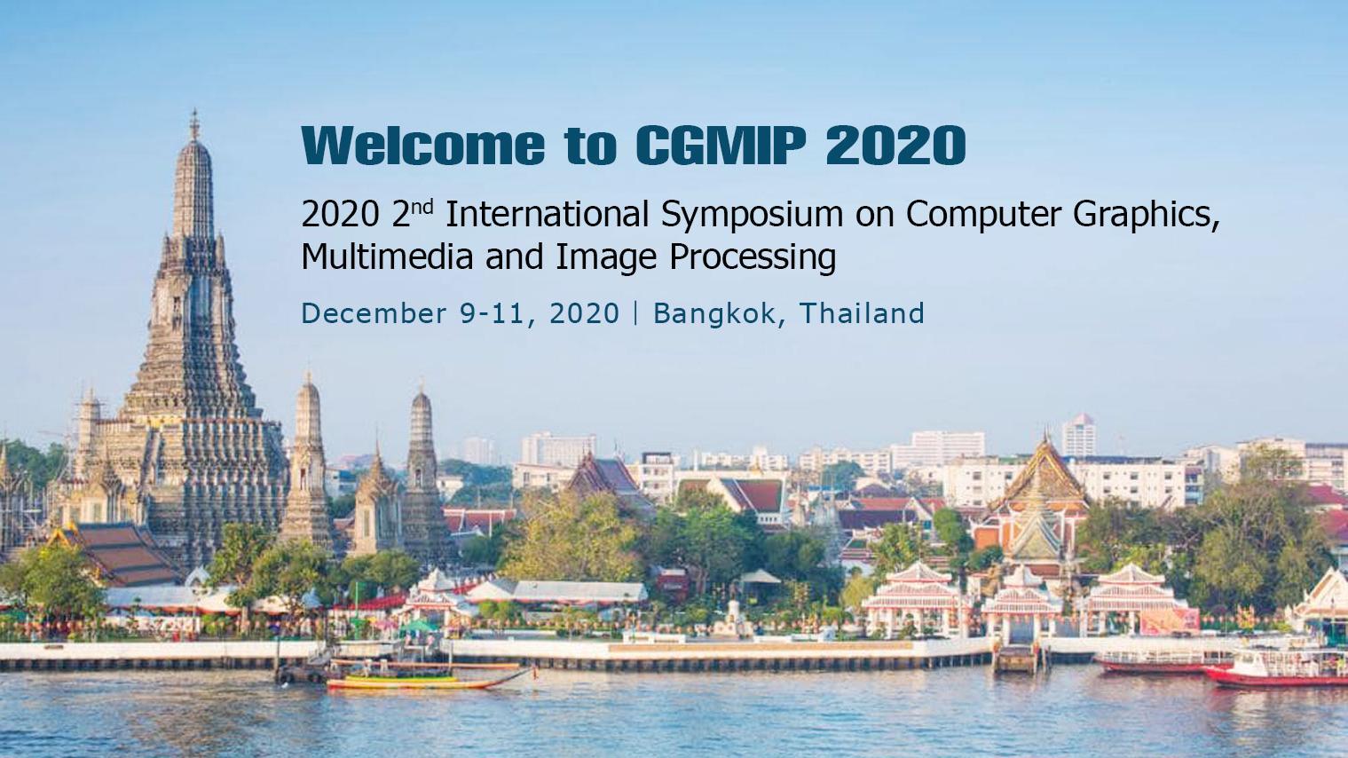 第二届计算机图形、多媒体与图像处理国际会议(CGMIP 20